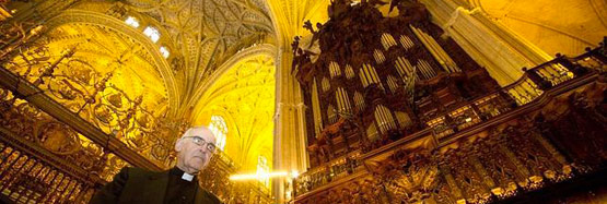 Father Ayarra and the Cathedral Organ